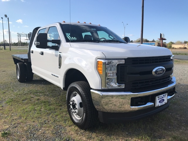 2017 F-350 Crew Cab DRW 4x4, Knapheide Platform Body #177911 - photo 4