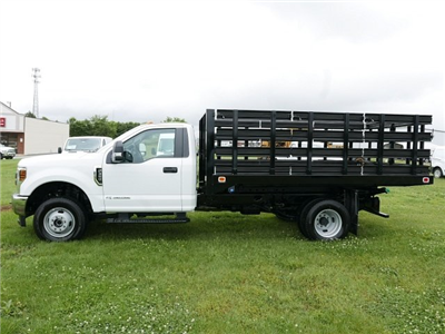 2018 F-350 Regular Cab DRW 4x4,  Knapheide Value-Master X Stake Bed #188451 - photo 5