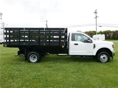 2018 F-350 Regular Cab DRW 4x4,  Knapheide Value-Master X Stake Bed #188451 - photo 7