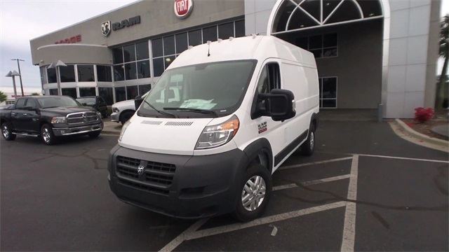2018 ProMaster 1500 High Roof,  Empty Cargo Van #J0310 - photo 10