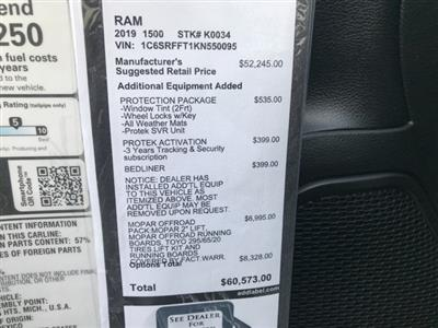 2019 Ram 1500 Crew Cab 4x4,  Pickup #K0034 - photo 18