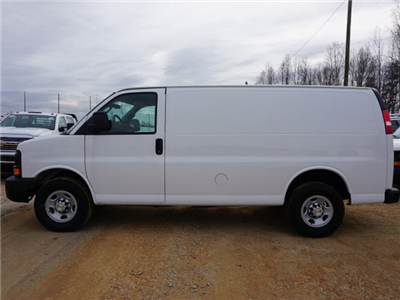2016 Express 2500, Adrian Steel Commercial Shelving Upfitted Cargo Van #DT6652 - photo 7