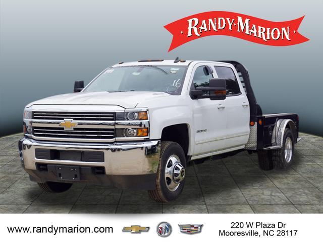 2015 Silverado 3500 Crew Cab 4x4,  Freedom Platform Body #TR55590 - photo 4