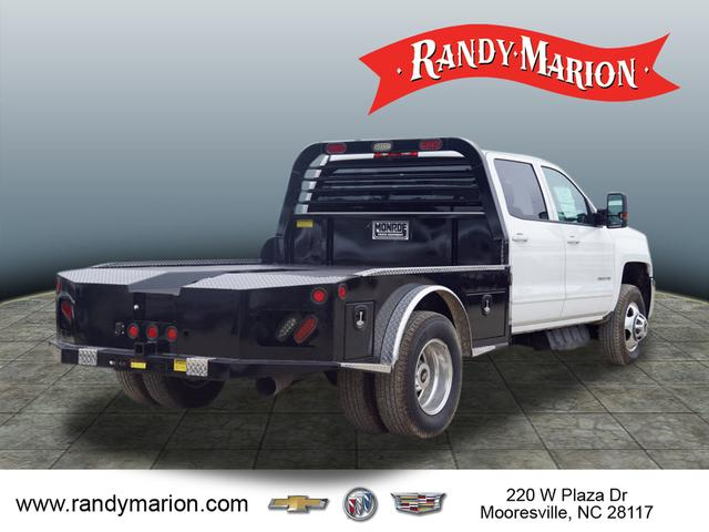 2015 Silverado 3500 Crew Cab 4x4,  Freedom Platform Body #TR55590 - photo 2