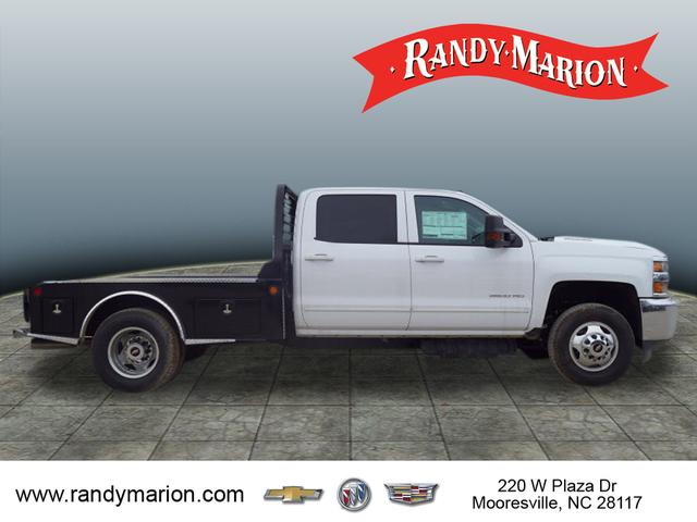 2015 Silverado 3500 Crew Cab 4x4,  Freedom Platform Body #TR55592 - photo 8