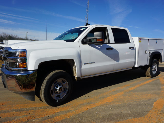 2016 Silverado 2500 Crew Cab 4x2,  Monroe Service Body #TR63011 - photo 7
