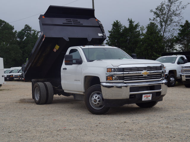 2016 Silverado 3500 Regular Cab DRW 4x2,  Monroe Dump Body #TR63405 - photo 4