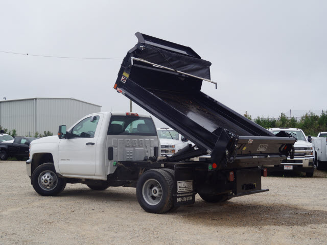 2016 Silverado 3500 Regular Cab DRW 4x2,  Monroe Dump Body #TR63405 - photo 5