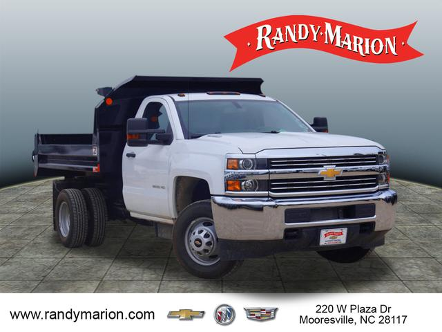 2016 Silverado 3500 Regular Cab DRW 4x2,  Monroe Dump Body #TR63405 - photo 20