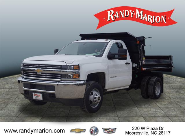 2016 Silverado 3500 Regular Cab DRW 4x2,  Monroe Dump Body #TR63405 - photo 22
