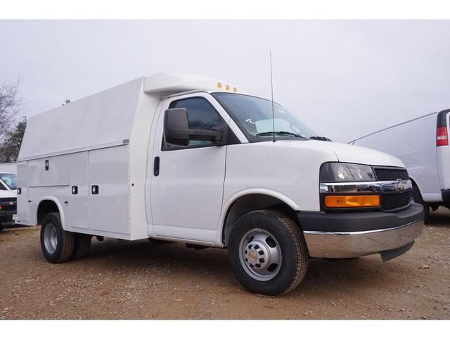 2017 Chevrolet Express 3500 DRW, Box Truck #TR63819 - photo 1