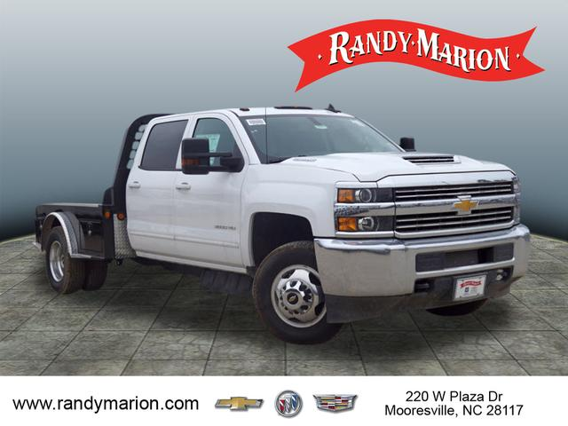 2017 Silverado 3500 Crew Cab 4x4,  Freedom Montana Platform Body #TR64732 - photo 1