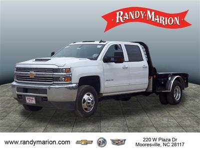 2017 Silverado 3500 Crew Cab 4x4,  Freedom Montana Platform Body #TR64732 - photo 4