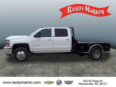 2017 Silverado 3500 Crew Cab 4x4,  Freedom Montana Platform Body #TR64732 - photo 5