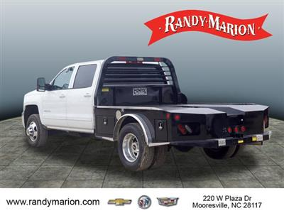2017 Silverado 3500 Crew Cab 4x4,  Freedom Montana Platform Body #TR64732 - photo 6