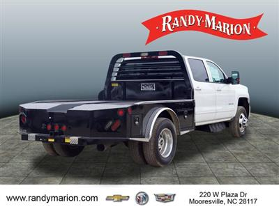 2017 Silverado 3500 Crew Cab 4x4,  Freedom Montana Platform Body #TR64732 - photo 2