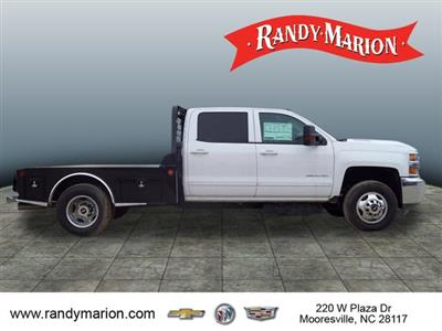 2017 Silverado 3500 Crew Cab 4x4,  Freedom Montana Platform Body #TR64732 - photo 8