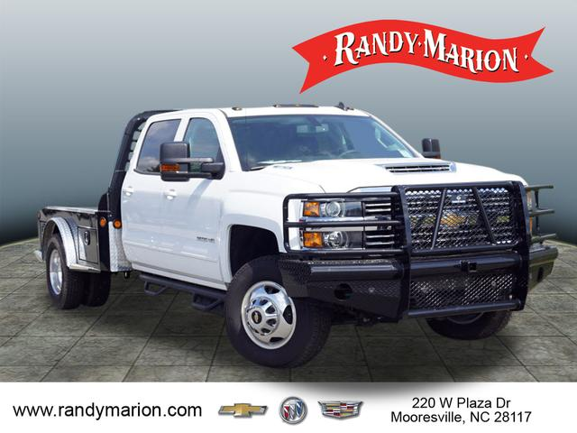 2017 Silverado 3500 Crew Cab 4x4,  Freedom Montana Platform Body #TR65170 - photo 1