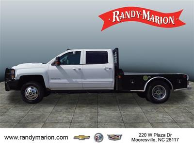2017 Silverado 3500 Crew Cab 4x4,  Freedom Montana Platform Body #TR65170 - photo 5