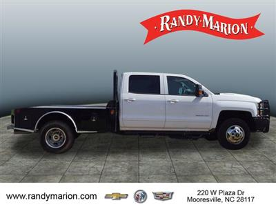 2017 Silverado 3500 Crew Cab 4x4,  Freedom Montana Platform Body #TR65170 - photo 8