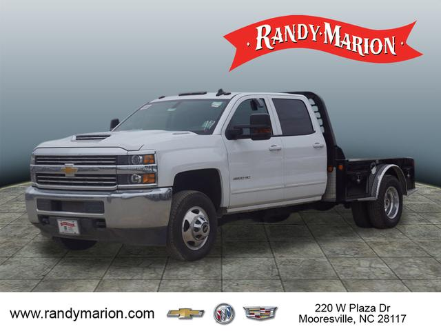 2017 Silverado 3500 Crew Cab 4x4,  Freedom Platform Body #TR65526 - photo 4