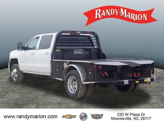 2017 Silverado 3500 Crew Cab 4x4,  Freedom Platform Body #TR65526 - photo 6