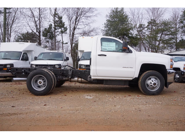 2017 Silverado 3500 Regular Cab DRW 4x2,  Reading Dump Body #TR66053 - photo 15