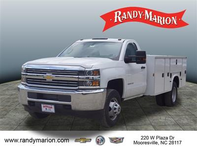 2017 Silverado 3500 Regular Cab DRW 4x2,  Knapheide Standard Service Body #TR66299 - photo 16