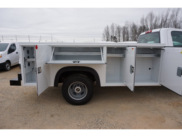 2018 Silverado 3500 Regular Cab DRW 4x4,  Monroe Service Body #TR66863 - photo 7
