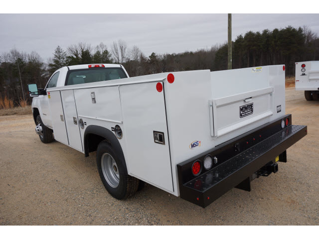 2018 Silverado 3500 Regular Cab DRW 4x4,  Monroe Service Body #TR66863 - photo 9