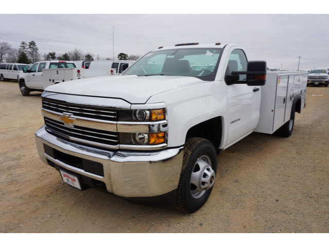 2018 Silverado 3500 Regular Cab DRW 4x4,  Monroe Service Body #TR66863 - photo 10