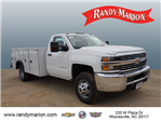 2018 Silverado 3500 Regular Cab DRW 4x4,  Monroe Service Body #TR66863 - photo 1