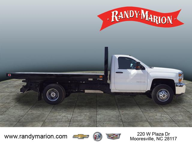 2018 Silverado 3500 Regular Cab DRW 4x2,  Knapheide Value-Master X Platform Body #TR67213 - photo 10
