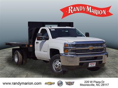 2018 Silverado 3500 Regular Cab DRW 4x2,  Knapheide Value-Master X Platform Body #TR67213 - photo 1