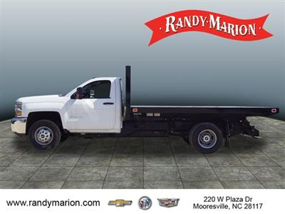 2018 Silverado 3500 Regular Cab DRW 4x2,  Knapheide Value-Master X Platform Body #TR67213 - photo 6