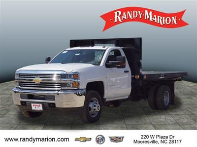 2018 Silverado 3500 Regular Cab DRW 4x2,  Knapheide Value-Master X Platform Body #TR67213 - photo 15