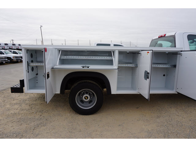 2018 Silverado 3500 Regular Cab DRW 4x4,  Monroe Service Body #TR67684 - photo 7