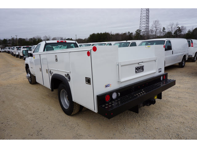 2018 Silverado 3500 Regular Cab DRW 4x4,  Monroe Service Body #TR67684 - photo 9