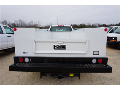 2018 Silverado 3500 Regular Cab DRW 4x4,  Monroe Service Body #TR67684 - photo 8