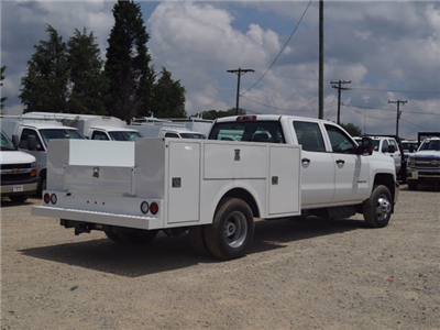 2018 Silverado 3500 Crew Cab DRW 4x2,  Warner Service Body #TR68254A - photo 2