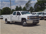 2018 Silverado 3500 Crew Cab DRW 4x2,  Warner Service Body #TR68254A - photo 1