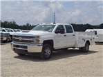 2018 Silverado 3500 Crew Cab DRW 4x2,  Warner Service Body #TR68254A - photo 4