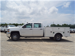 2018 Silverado 3500 Crew Cab DRW 4x2,  Warner Service Body #TR68254A - photo 5