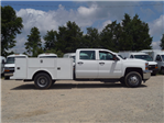 2018 Silverado 3500 Crew Cab DRW 4x2,  Warner Service Body #TR68254A - photo 8