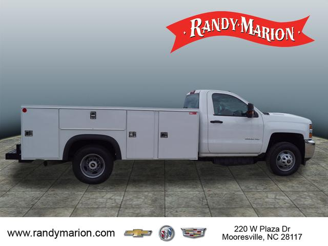2018 Silverado 3500 Regular Cab DRW 4x4,  Monroe Service Body #TR68805 - photo 8