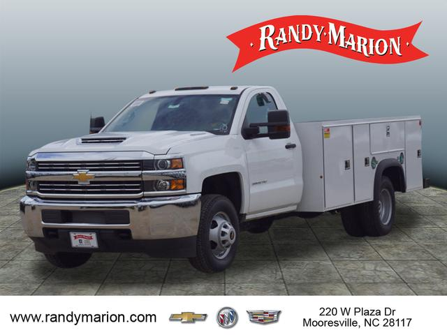 2018 Silverado 3500 Regular Cab DRW 4x4,  Monroe Service Body #TR68805 - photo 10