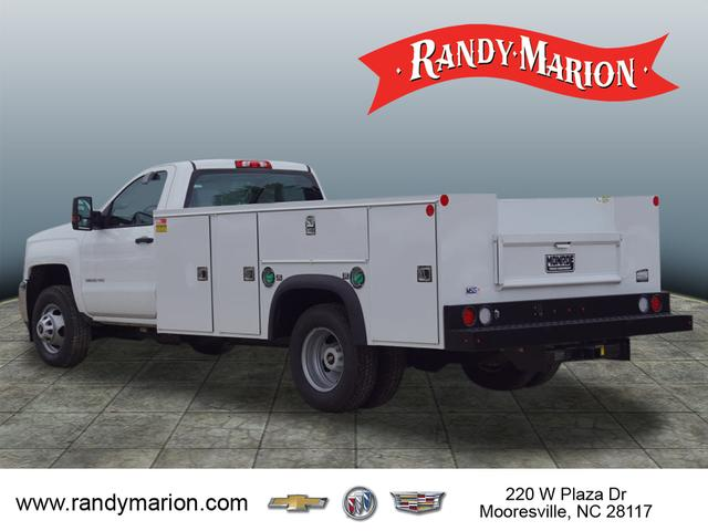 2018 Silverado 3500 Regular Cab DRW 4x4,  Monroe Service Body #TR68805 - photo 9