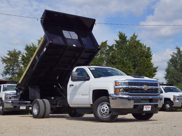 2018 Silverado 3500 Regular Cab DRW 4x2,  Dump Body #TR68960 - photo 9
