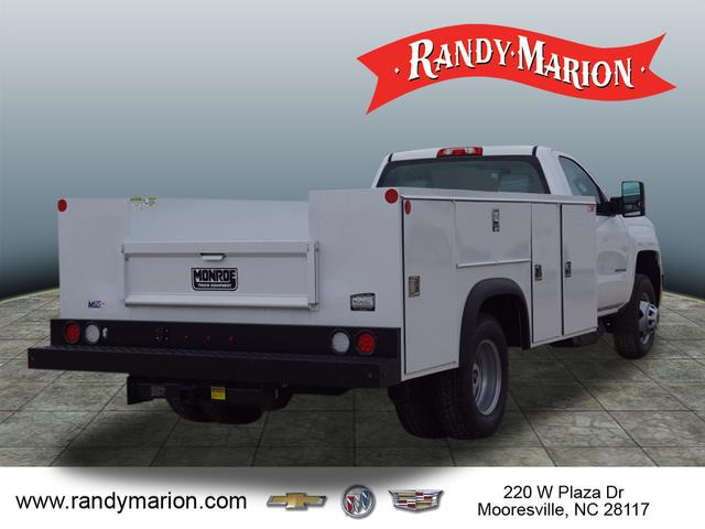 2018 Silverado 3500 Regular Cab DRW 4x4,  Monroe Service Body #TR69525 - photo 2