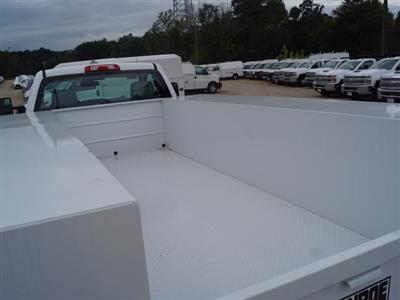 2018 Silverado 3500 Regular Cab DRW 4x4,  Monroe Service Body #TR69525 - photo 10